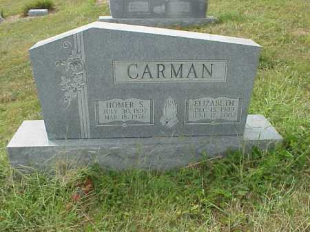 RAY CARMAN, ELIZABETH - Meigs County, Ohio | ELIZABETH RAY CARMAN - Ohio Gravestone Photos