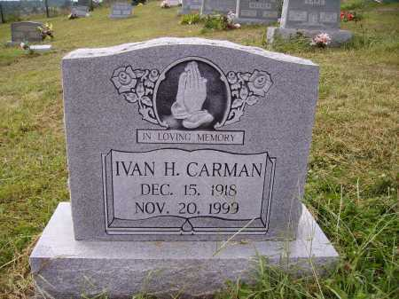 CARMAN, IVAN H. - Meigs County, Ohio | IVAN H. CARMAN - Ohio Gravestone Photos