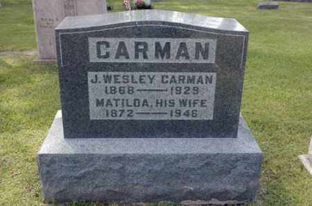 TOBAN CARMAN, MATILDA - Meigs County, Ohio | MATILDA TOBAN CARMAN - Ohio Gravestone Photos