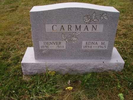 CARMAN, EDNA M. - Meigs County, Ohio | EDNA M. CARMAN - Ohio Gravestone Photos