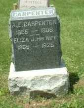 CARPENTER, ELIZA J. - Meigs County, Ohio | ELIZA J. CARPENTER - Ohio Gravestone Photos