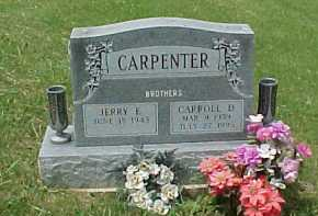 CARPENTER, JERRY E. - Meigs County, Ohio | JERRY E. CARPENTER - Ohio Gravestone Photos