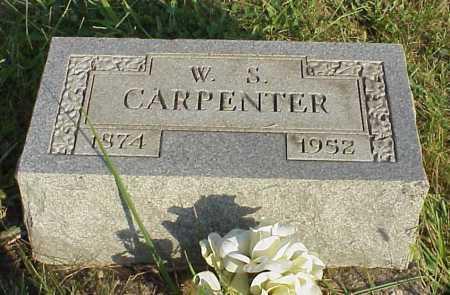 CARPENTER, W. S. - Meigs County, Ohio | W. S. CARPENTER - Ohio Gravestone Photos