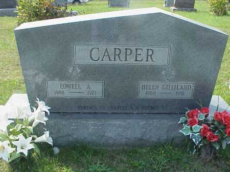 CARPER, LOWELL A. - Meigs County, Ohio | LOWELL A. CARPER - Ohio Gravestone Photos