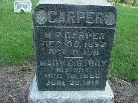 CARPER, MARY OLIVE - Meigs County, Ohio | MARY OLIVE CARPER - Ohio Gravestone Photos