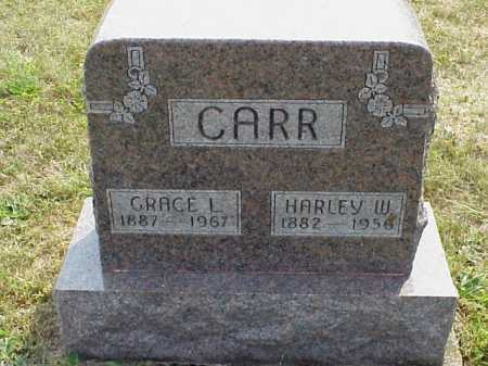 CARR, HARLEY W. - Meigs County, Ohio | HARLEY W. CARR - Ohio Gravestone Photos