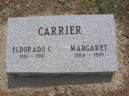 CARRIER, ELDORADO - Meigs County, Ohio | ELDORADO CARRIER - Ohio Gravestone Photos
