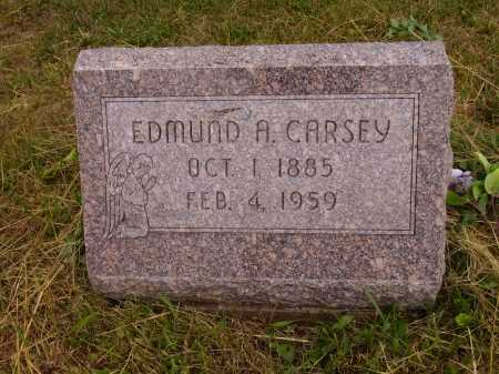 CARSEY, EDMUND A. - Meigs County, Ohio | EDMUND A. CARSEY - Ohio Gravestone Photos