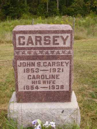 SPENCER CARSEY, CAROLINE - Meigs County, Ohio | CAROLINE SPENCER CARSEY - Ohio Gravestone Photos