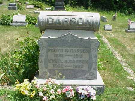 CARSON, FLOYD W. - Meigs County, Ohio | FLOYD W. CARSON - Ohio Gravestone Photos