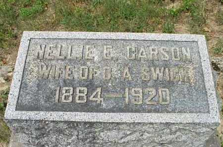 CARSON, NELLIE E. - Meigs County, Ohio | NELLIE E. CARSON - Ohio Gravestone Photos