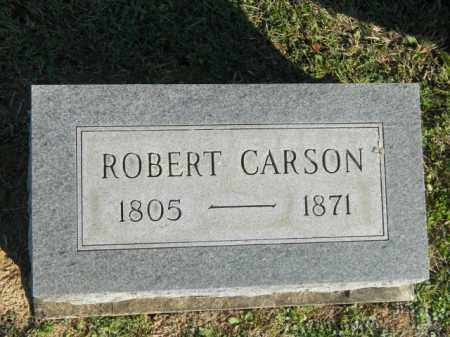 CARSON, ROBERT - Meigs County, Ohio | ROBERT CARSON - Ohio Gravestone Photos