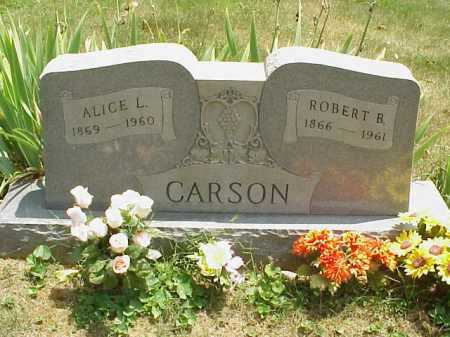 CARSON, ROBERT B. - Meigs County, Ohio | ROBERT B. CARSON - Ohio Gravestone Photos