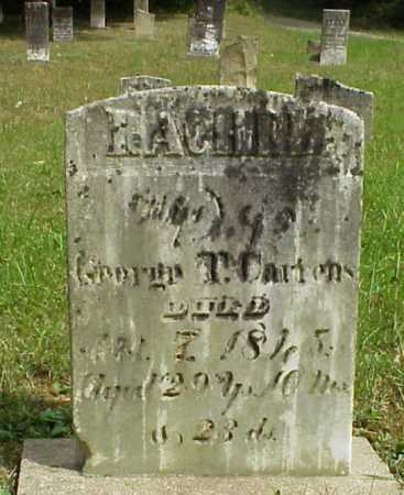 CARIENS, RACHEL - Meigs County, Ohio | RACHEL CARIENS - Ohio Gravestone Photos