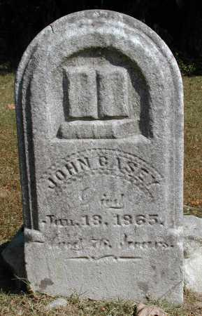 CASEY, JOHN - Meigs County, Ohio | JOHN CASEY - Ohio Gravestone Photos