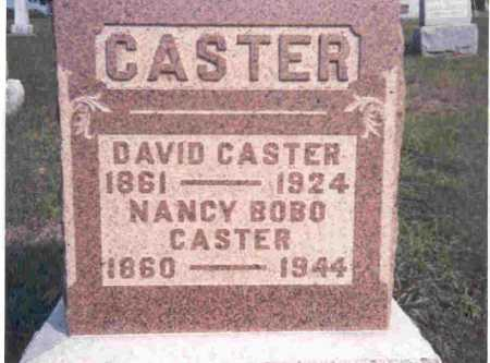 CASTER, DAVID - Meigs County, Ohio | DAVID CASTER - Ohio Gravestone Photos
