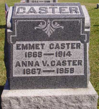 CASTER, ANNA - Meigs County, Ohio | ANNA CASTER - Ohio Gravestone Photos
