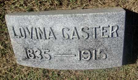 GREEN CASTER, LOVINA - Meigs County, Ohio | LOVINA GREEN CASTER - Ohio Gravestone Photos