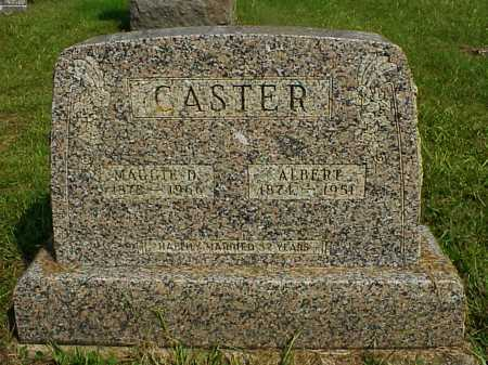 CASTER, ALBERT - Meigs County, Ohio | ALBERT CASTER - Ohio Gravestone Photos