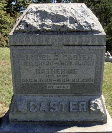 CASTER, CATHERINE MARY - OVERALL VIEW - Meigs County, Ohio | CATHERINE MARY - OVERALL VIEW CASTER - Ohio Gravestone Photos
