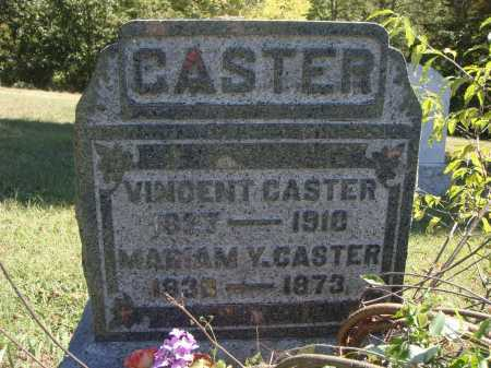 CASTER, VINCENT - Meigs County, Ohio | VINCENT CASTER - Ohio Gravestone Photos