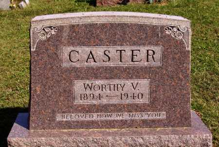 CASTER, WORTHY VALE - Meigs County, Ohio | WORTHY VALE CASTER - Ohio Gravestone Photos