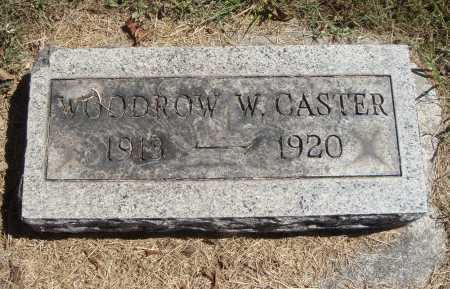 CASTER, WOODROW W. - Meigs County, Ohio | WOODROW W. CASTER - Ohio Gravestone Photos