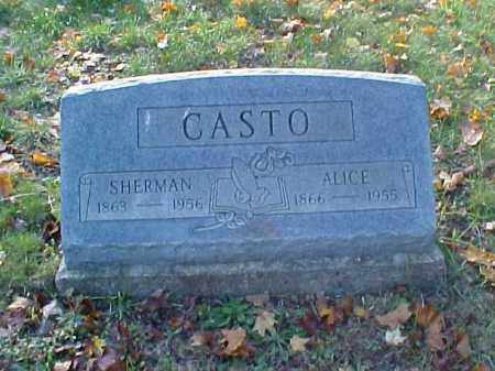 CASTO, SHERMAN - Meigs County, Ohio | SHERMAN CASTO - Ohio Gravestone Photos