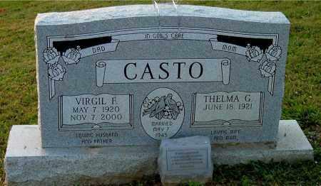 CASTO, THELMA G - Meigs County, Ohio | THELMA G CASTO - Ohio Gravestone Photos