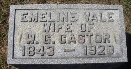 CASTOR, EMELINE - Meigs County, Ohio | EMELINE CASTOR - Ohio Gravestone Photos