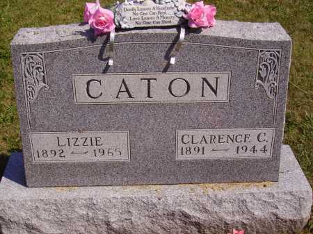 CATON, LIZZIE - Meigs County, Ohio | LIZZIE CATON - Ohio Gravestone Photos