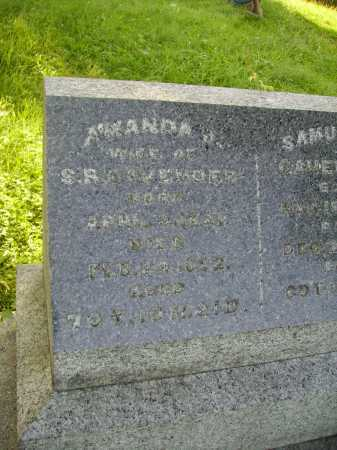 CAVENDER, AMANDA J. - Meigs County, Ohio | AMANDA J. CAVENDER - Ohio Gravestone Photos