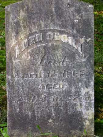 CECIL, ADEN - Meigs County, Ohio | ADEN CECIL - Ohio Gravestone Photos