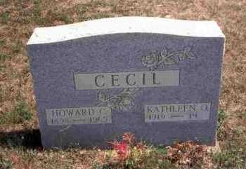 CECIL, KATHLEEN O. - Meigs County, Ohio | KATHLEEN O. CECIL - Ohio Gravestone Photos