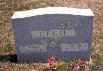 CECIL, HOWARD C. - Meigs County, Ohio | HOWARD C. CECIL - Ohio Gravestone Photos