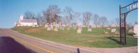 CEMETERY, TEMPLE OVERVIEW - Meigs County, Ohio | TEMPLE OVERVIEW CEMETERY - Ohio Gravestone Photos