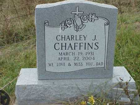 CHAFFINS, CHARLEY J. - Meigs County, Ohio | CHARLEY J. CHAFFINS - Ohio Gravestone Photos