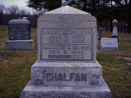 CHALFAN, ELIZABETH S. - Meigs County, Ohio | ELIZABETH S. CHALFAN - Ohio Gravestone Photos