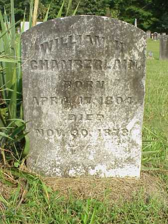 CHAMBERLAIN, WILLIAM H. - Meigs County, Ohio | WILLIAM H. CHAMBERLAIN - Ohio Gravestone Photos