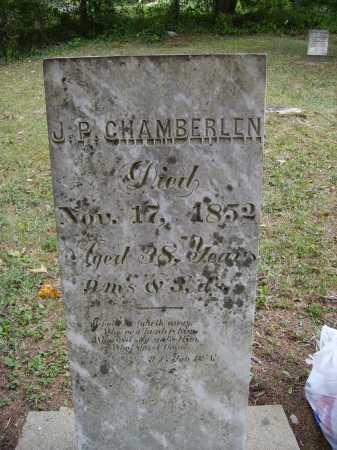 CHAMBERLEN, J. [JACOB] P. - Meigs County, Ohio | J. [JACOB] P. CHAMBERLEN - Ohio Gravestone Photos