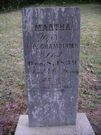 CHAMBERLEN, MARTHA - Meigs County, Ohio | MARTHA CHAMBERLEN - Ohio Gravestone Photos