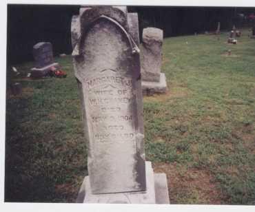 CHANEY, MARGARET J. - Meigs County, Ohio | MARGARET J. CHANEY - Ohio Gravestone Photos