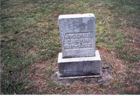 CHAPIN, JOSEPH B. - Meigs County, Ohio | JOSEPH B. CHAPIN - Ohio Gravestone Photos