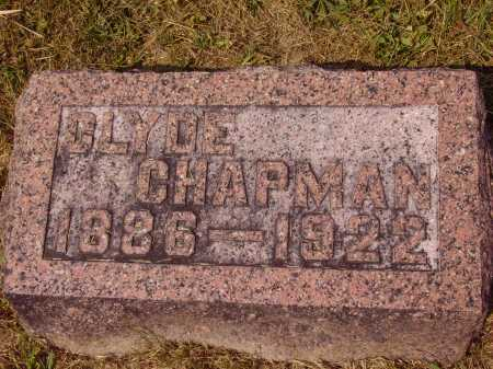 CHAPMAN, CLYDE - Meigs County, Ohio | CLYDE CHAPMAN - Ohio Gravestone Photos