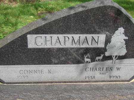 CHAPMAN, CHARLES W (BILL) - Meigs County, Ohio | CHARLES W (BILL) CHAPMAN - Ohio Gravestone Photos