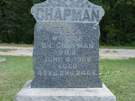 CHAPMAN, DELLA - Meigs County, Ohio | DELLA CHAPMAN - Ohio Gravestone Photos