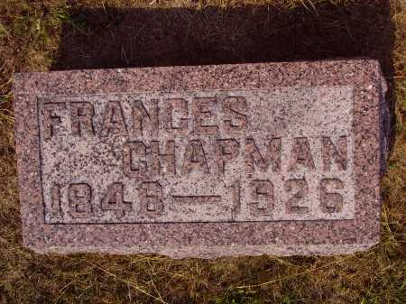 SLEETH CHAPMAN, FRANCES - Meigs County, Ohio | FRANCES SLEETH CHAPMAN - Ohio Gravestone Photos