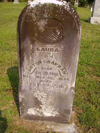 CHAPMAN, LAURA - Meigs County, Ohio | LAURA CHAPMAN - Ohio Gravestone Photos