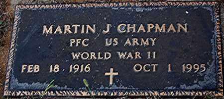 CHAPMAN, MARTIN J. - Meigs County, Ohio | MARTIN J. CHAPMAN - Ohio Gravestone Photos