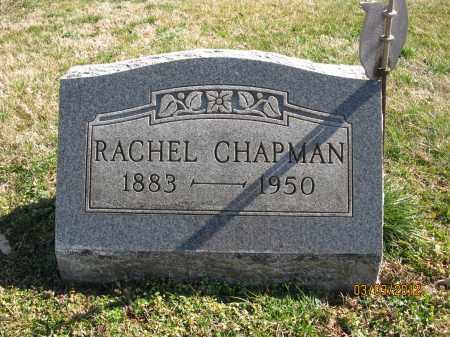 CHAPMAN, RACHEL - Meigs County, Ohio | RACHEL CHAPMAN - Ohio Gravestone Photos